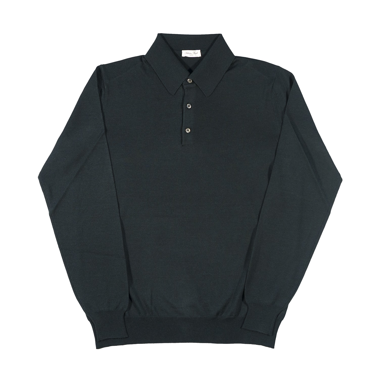 Blue Navy Polo Salvatore Piccolo