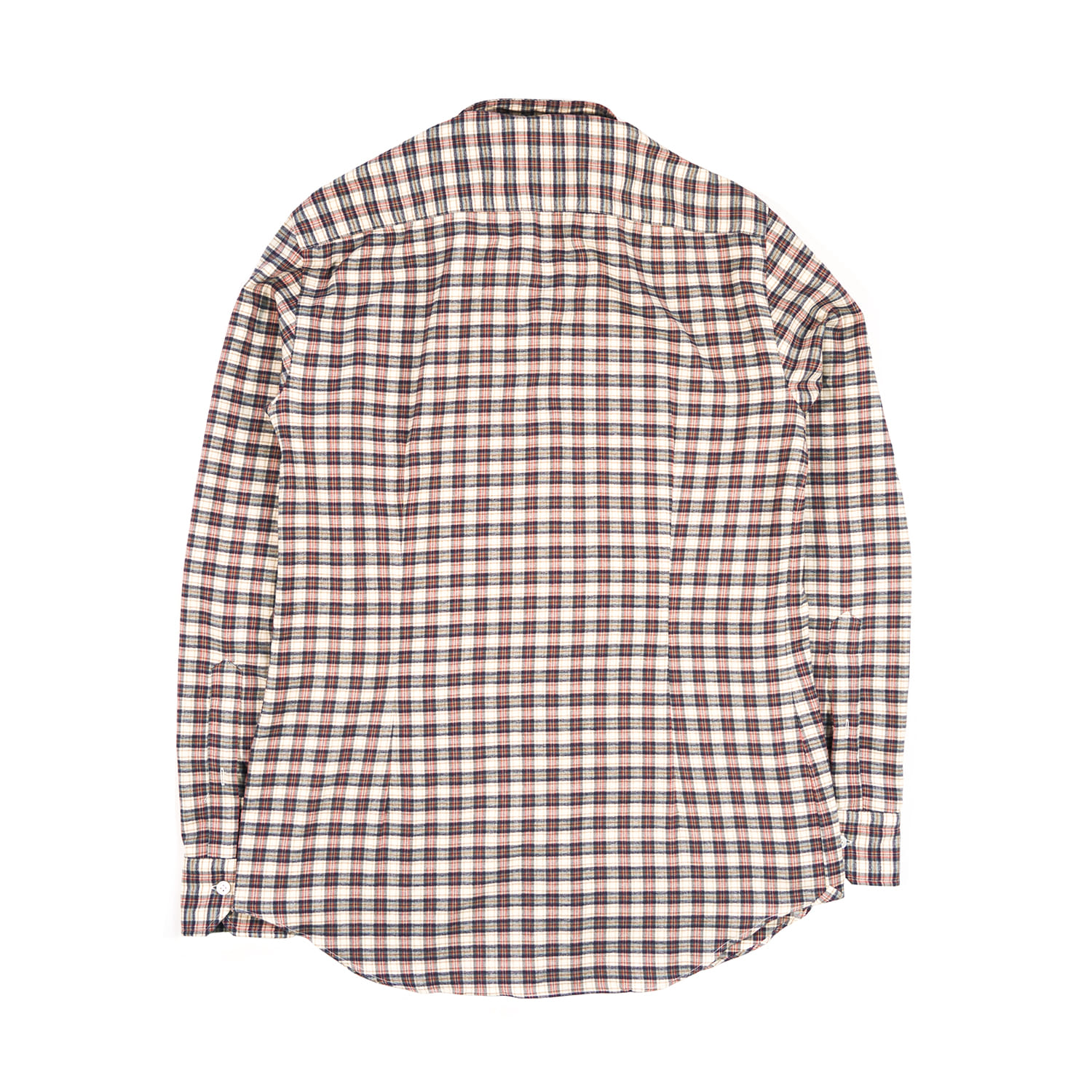 Classico Long Sleeves Plaid Shirt with Pence