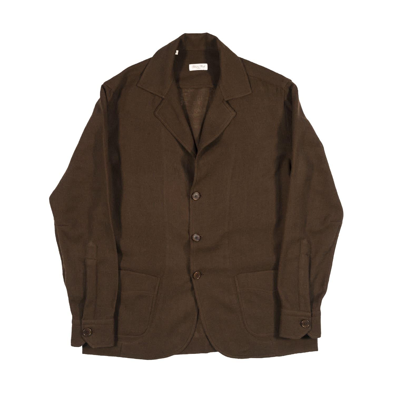 Shimaji Giacca Camicia manica lunga in tessuto Lana Garza