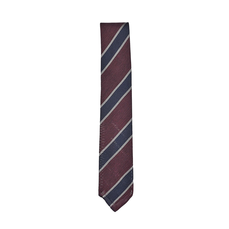 cravatta-sfoderata-seta-bordeaux-blu-bianco