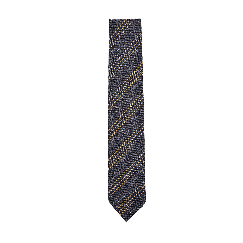 cravatta-seta-lana-avion-marrone-ocra