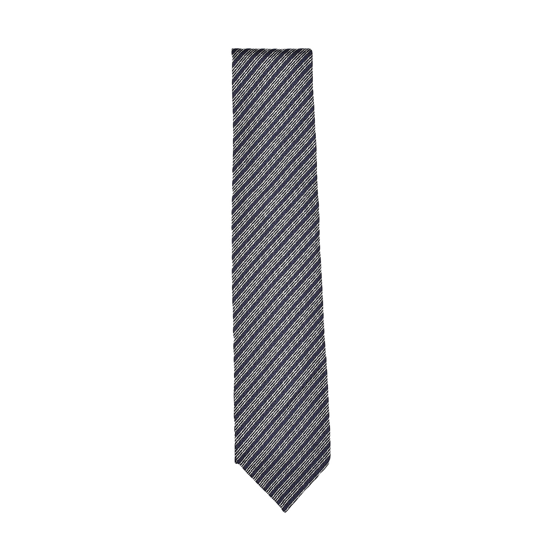 cravatta-seta-blu-panna