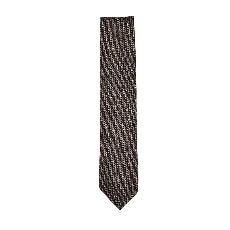 tie-unlined-wool-silk-brown-light-cream