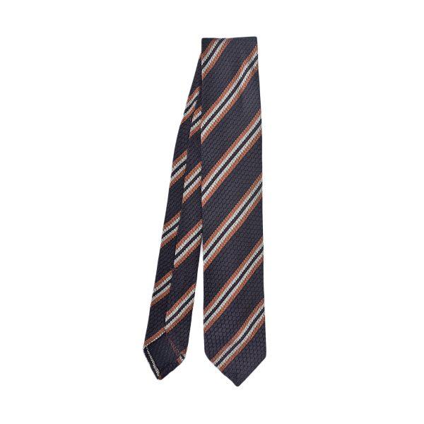 cravatta-regimental-marrone-arancio-beige