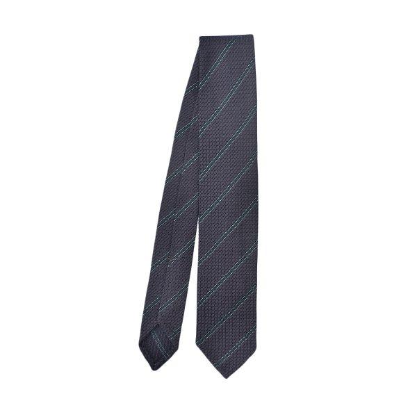 cravatta-regimental-blu-navy-verde